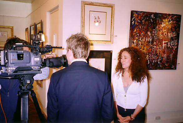 Jo Gelbard BBC TV news interview