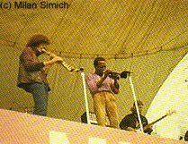 Steve Grossman, Miles, and Dave Holland, live in Central Park, July 1970