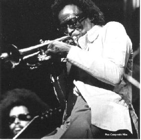Pete Cosey and Miles in 1973