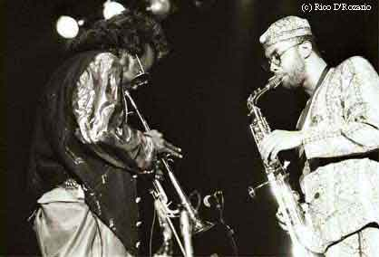 Miles and Kenny Garrett