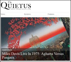 The Quietus article on Agharta and Pangaea